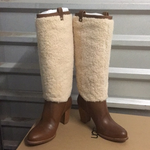 99affcd19a ❤️New Ugg Ava Exposed Fur boot 7 8 or 9 🔥SALE NWT